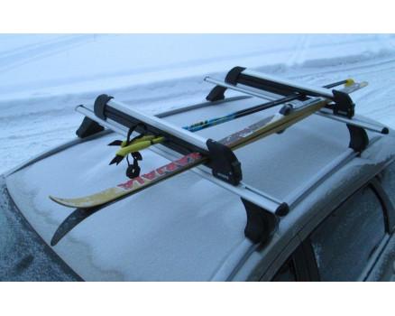 Крепление для перевозки 6 пар лыж