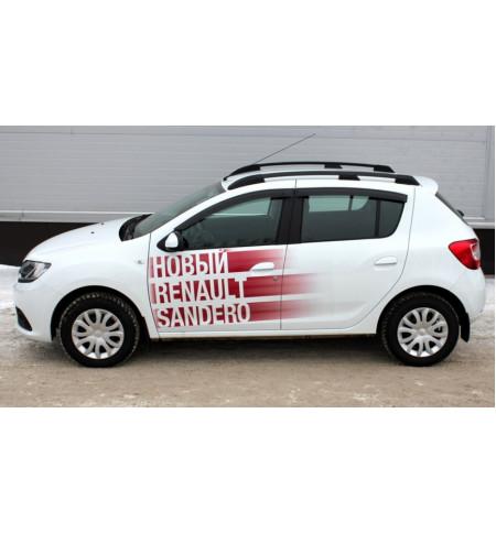 Рейлинги АПС на Renault SANDERO 2014— Арт. 0226-02