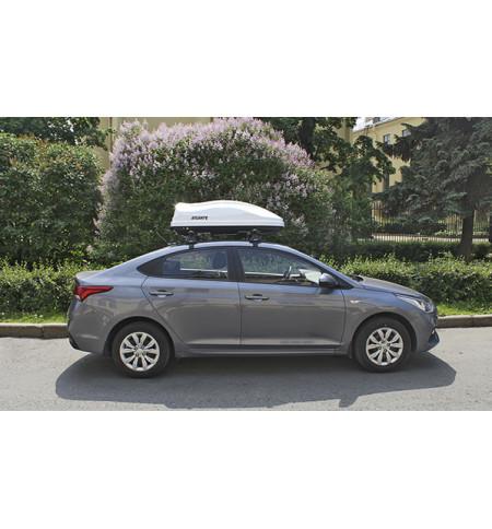 Автобокс на крышу Diamond White 351 (135*80*40) 350л