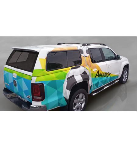 Рейлинги АПС на Volkswagen AMAROK 2010— Арт. 0210-02