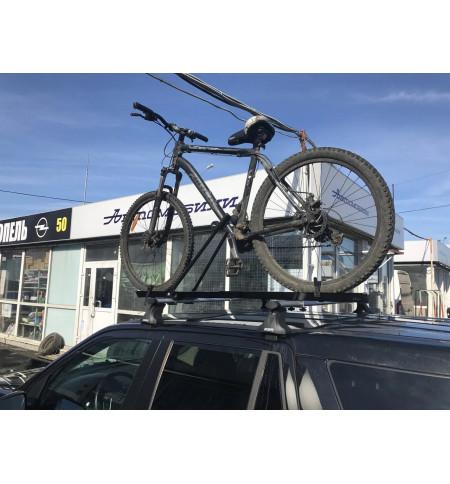 Велокрепление для перевозки велосипеда на крыше (эконом.)